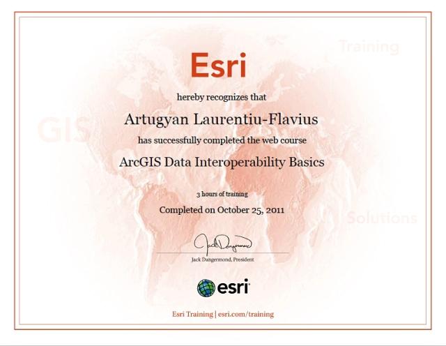ArcGIS Data Interoperability ESRI