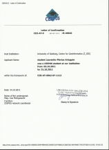 CEEPUS Scholarship Salzburg