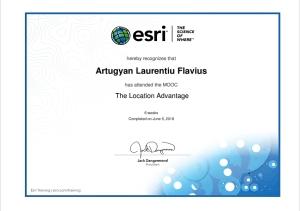 Certificare ESRI