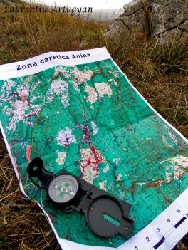 Harta zona Anina