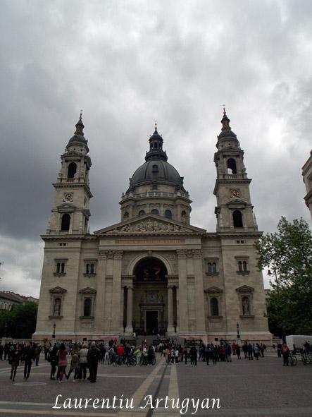 Bazilica Sf Stefan - exterior
