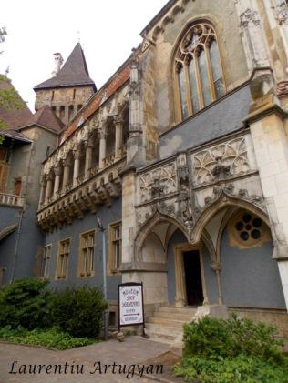 Castelul Vajdahunyad - partea gotica