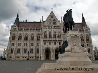 Palatul Parlamentului - lateral