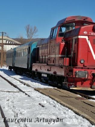 Garnitura tren Anina - Oravita