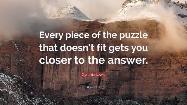 Lectia unui puzzle