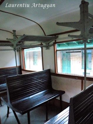 Tren Anina - Oravita interior