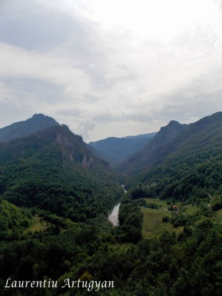 Peisaj Canionul Tara