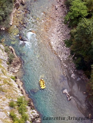 Rafting pe Tara