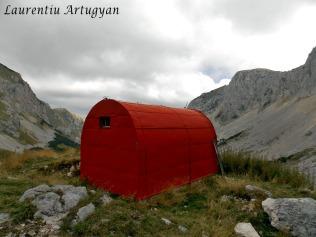 Alpin bivak Durmitor