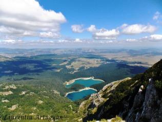 Crno Jezero vazut de pe Meded
