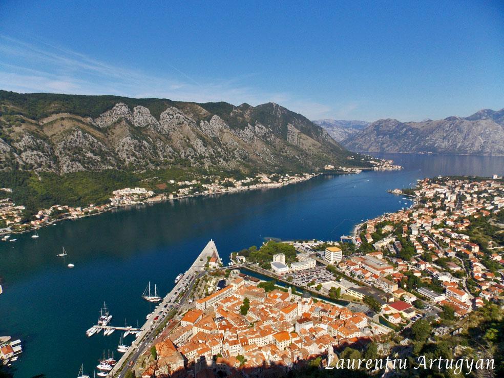 Perspectiva orasul Kotor