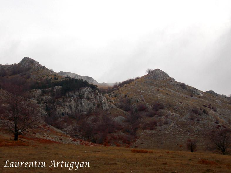 Relief carstic in Muntii Mehedinti