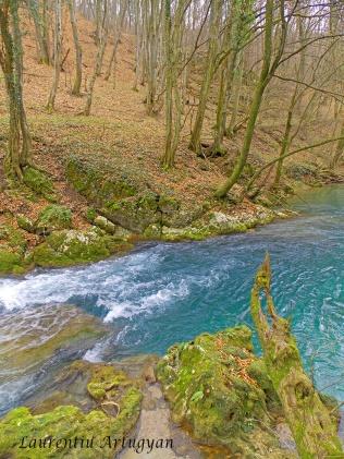 Albastru turcoaz Valea Beiului