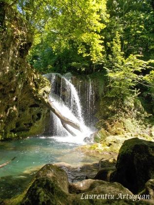 Cascada Vaioaga - septembrie