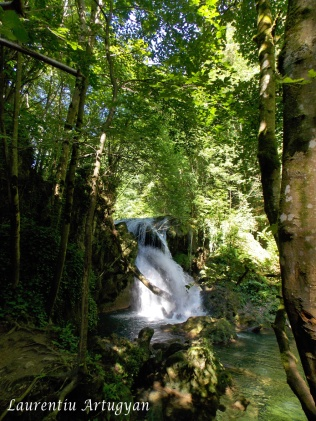 Cascada Vaioaga - mai