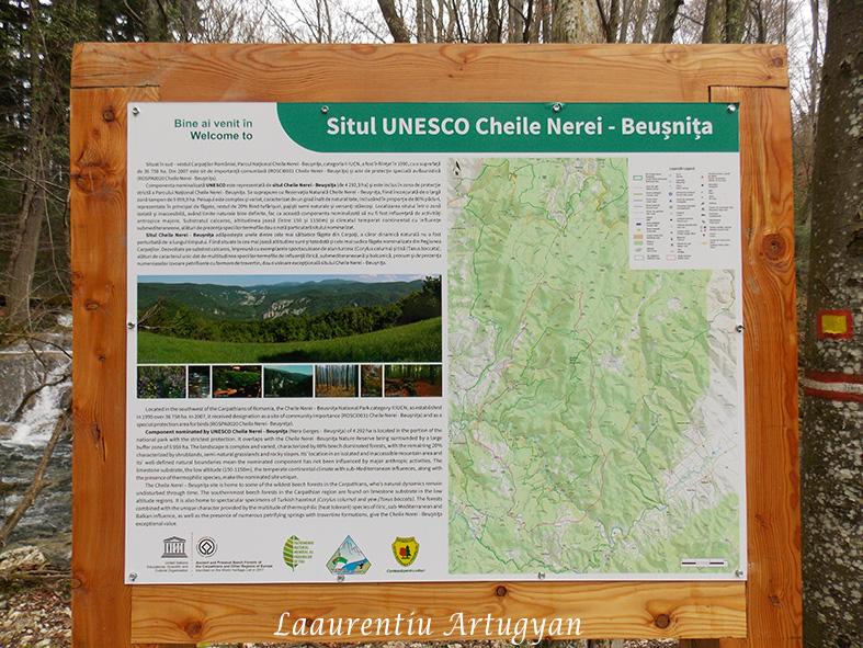 Cheile Nerei Beusnita UNESCO