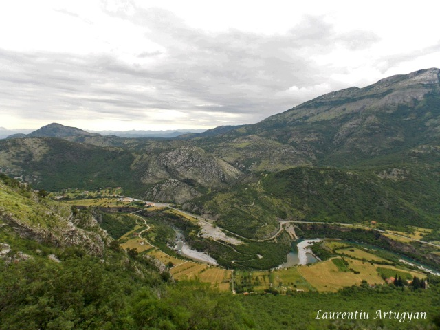 Calea ferata prin Muntenegru