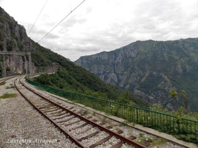Calea ferata ruta Belgrad Bar