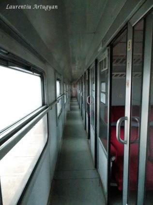 Interior tren Belgrad Bar