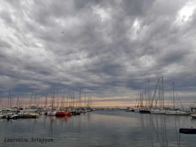 Orasul-port Bar Muntenegru