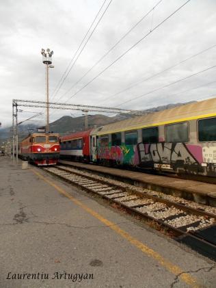 Tren gara Bar Muntenegru