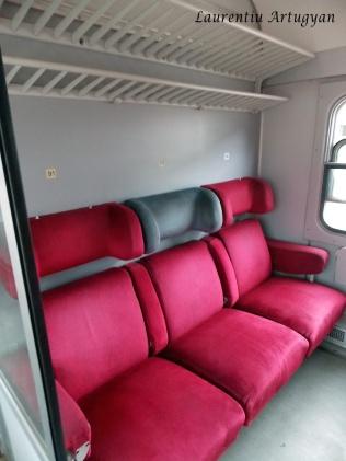 Vagon tren Belgrad Bar