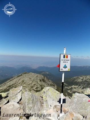 Varful Retezat 2485 metri