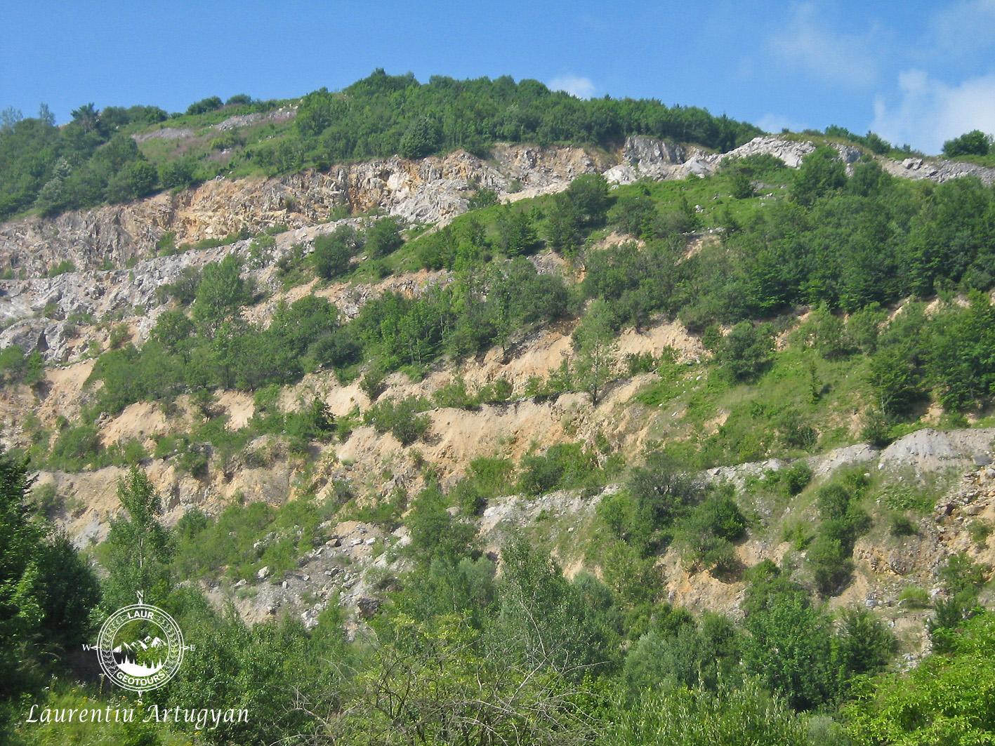 Terase Cariera Ponor - Talva Zanei