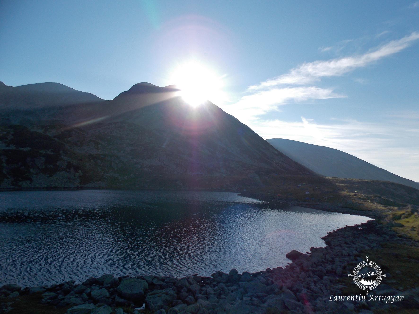 Lacul Bucura la rasarit