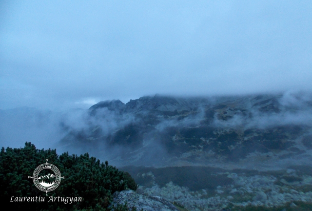 Se ridica ceata Lacul Bucura