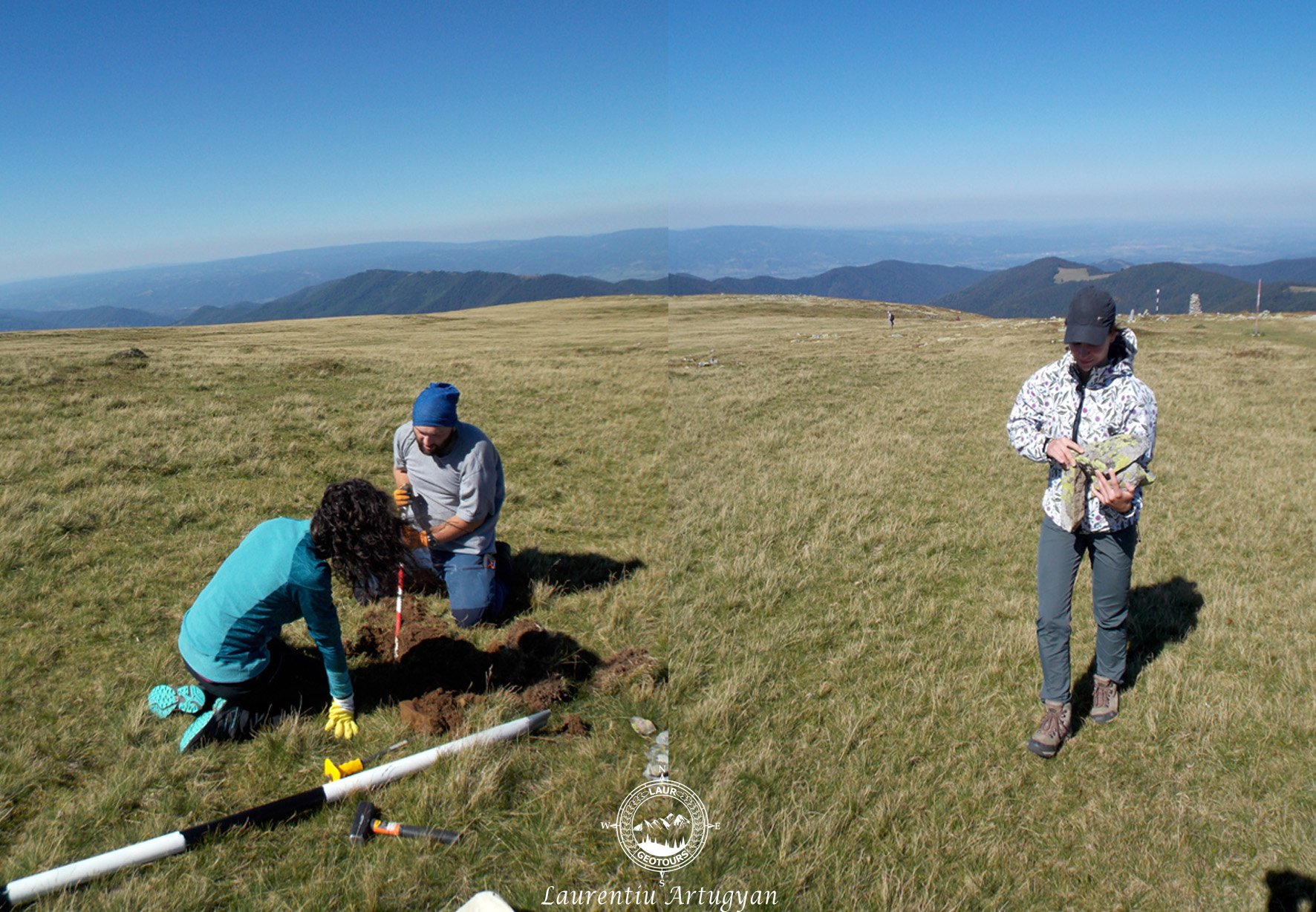 Actiune de voluntariat montan Muntii Tarcu