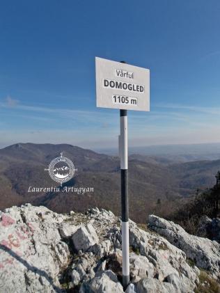 Varful Domogled 1105 metri