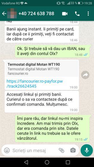 Frauda online OLX